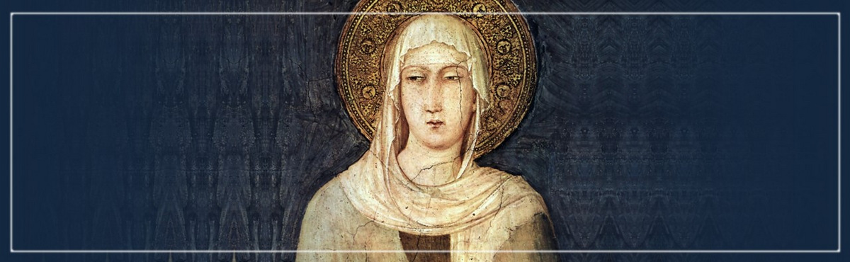 St. Clare, Pray for Us!